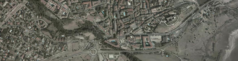 Vista aérea de Manzanares el Real
