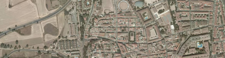 Vista aérea de Mejorada del Campo