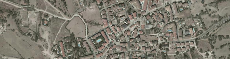 Vista aérea de Navalafuente