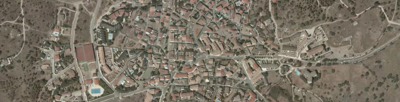 Vista aérea de Navalagamella