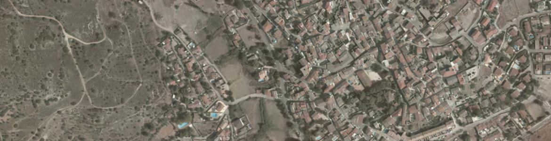 Vista aérea de Orusco de Tajuña