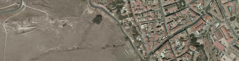Vista aérea de Paracuellos del Jarama