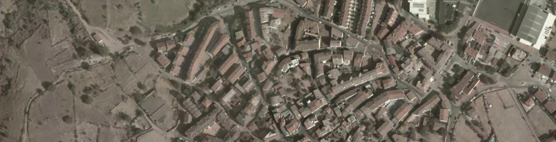 Vista aérea de Pedrezuela