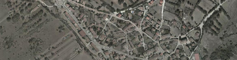 Vista aérea de Pinilla del Valle