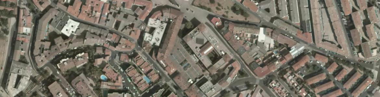 Vista aérea de Pozuelo de Alarcón