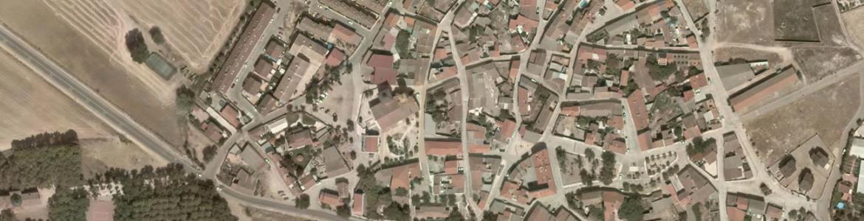 Vista aérea de Pozuelo del Rey