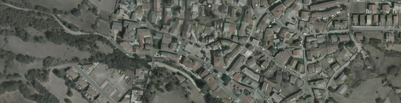 Vista aérea de Rascafría