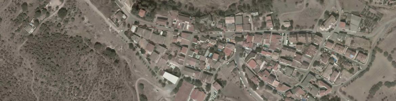 Vista aérea de Redueña