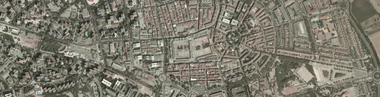 Vista aérea de San Fernando de Henares
