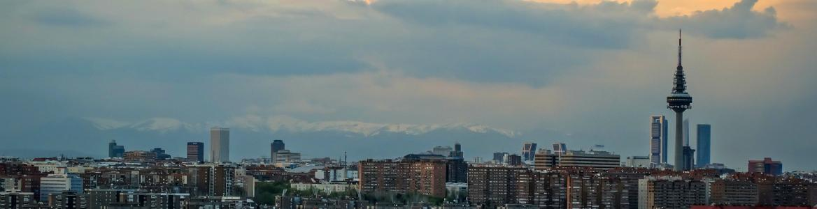 Skyline de Madrid con Torrespaña