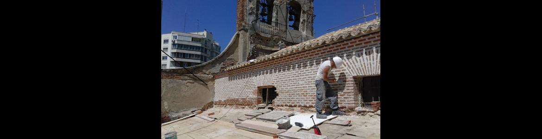 Restauración de la Ermita de San Blas, Fase I