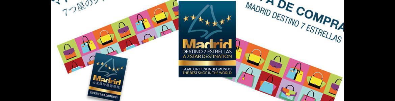 Mapa compras Madrid Destino 7 Estrellas