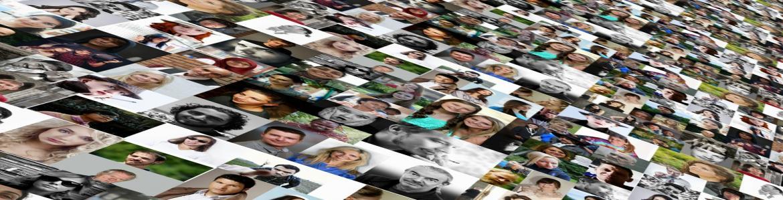 Fotos de mucha gente