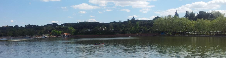 lago de la Casa de Campo