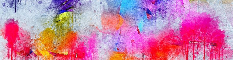 Brochazos acuarela colores