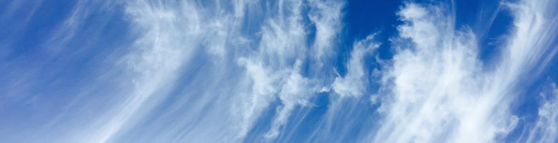 Nubes llamadas cirros