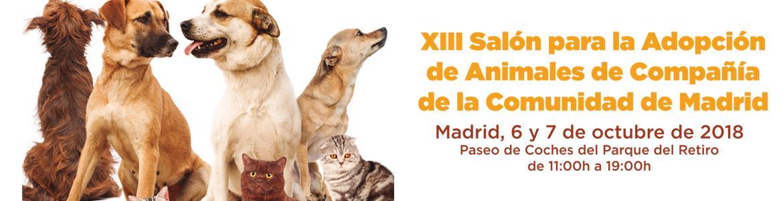 XIII Salón para la Adopción de Animales de Compañía de la Comunidad de Madrid