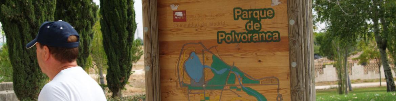 Cartel mapa Polvoranca