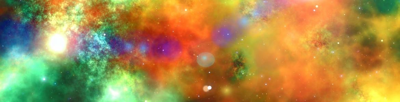 Dibujo el cosmos colores
