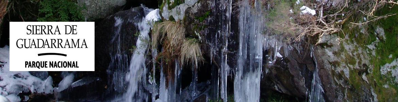 Cascada Ducha de los Alemanes en la senda Victory, en el Valle de la Fuenfría