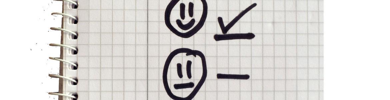 Cuaderno con lista de cosas por hacer