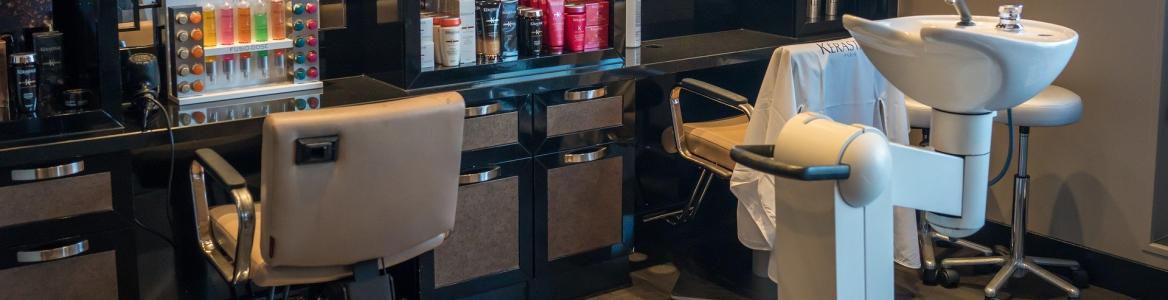 Interior peluquería
