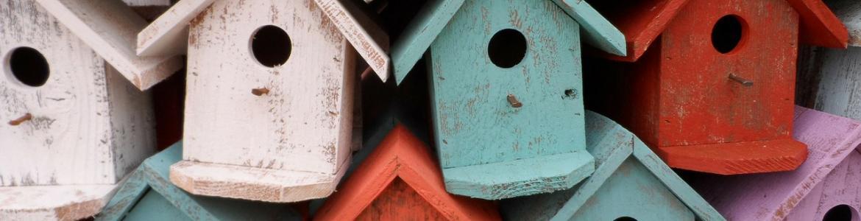 Cajas nido colores