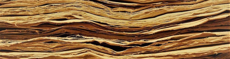 Detalle de las hojas de un libro antiguo