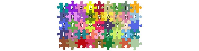 puzle de letras