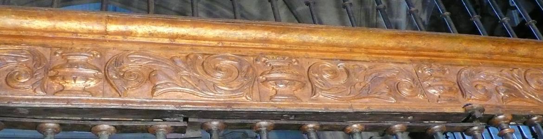 Reja de la capilla de la Anunciación o de Hernán López de Segovia