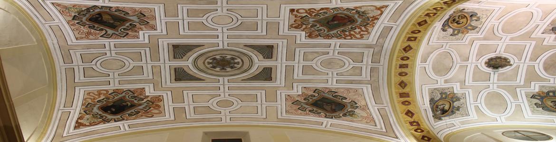 Restauración de las pinturas murales de las bóvedas del presbiterio y crucero de la iglesia parroquial de Nuestra Señora de la Asunción