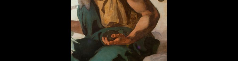 """Restauración de dos pinturas sobre lienzo de Eduardo Rosales, """"San Mateo"""" y """"San Juan Evangelista"""""""
