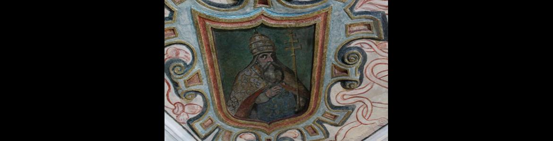 Pinturas murales de las bóvedas del presbiterio y crucero de la iglesia parroquial de Nuestra Señora de la Asunción
