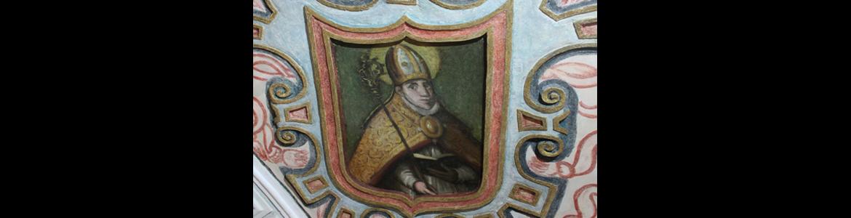 Restauración de las pinturas murales de las bóvedas del presbiterio y crucero de la iglesia parroquial de Nuestra Señora de la A