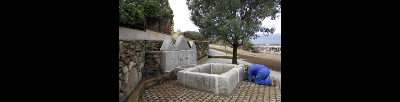 Restauración de la Fuente de Arriba