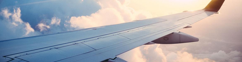 Huelgas avión