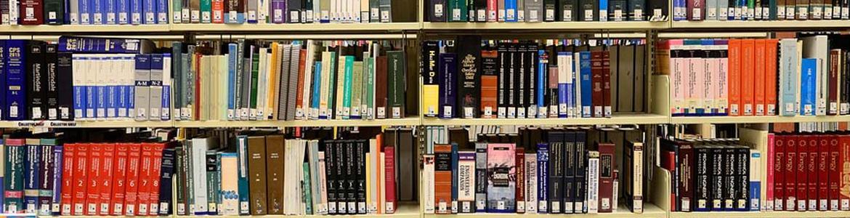 librería de una biblioteca