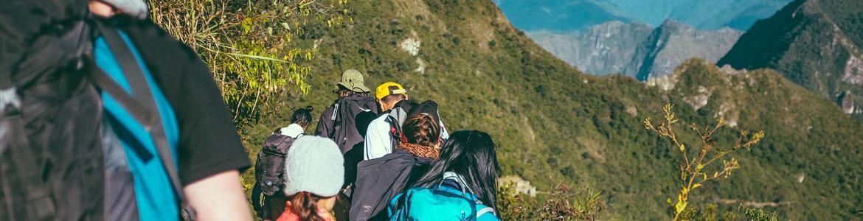 rutas por la montaña