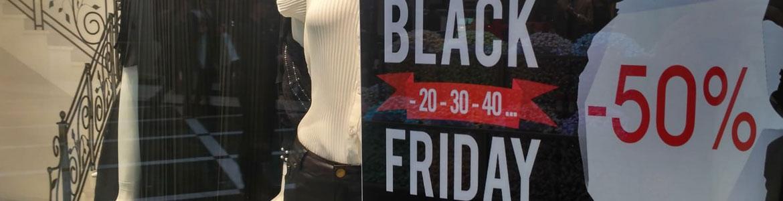 Escaparate Black Friday