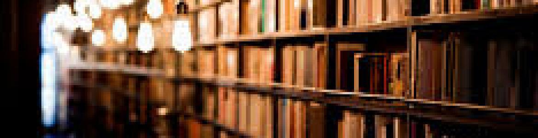 Estanterías con libros