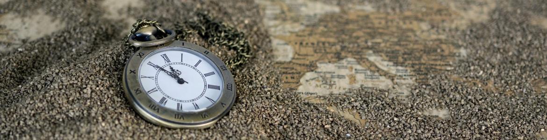 Reloj sobre la arena