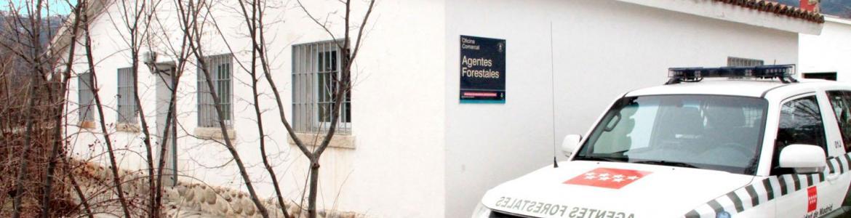 Imagen de la oficina comarcal 1 del Cuerpo de Agentes Forestales.