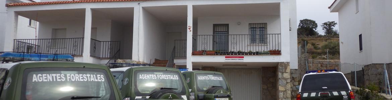 Imagen de la oficina comarcal 11 del Cuerpo de Agentes Forestales