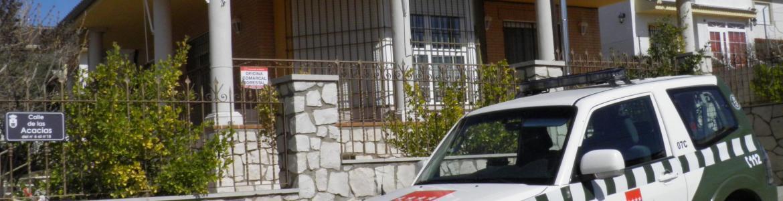 Imagen de la oficina comarcal 7 del Cuerpo de Agentes Forestales.