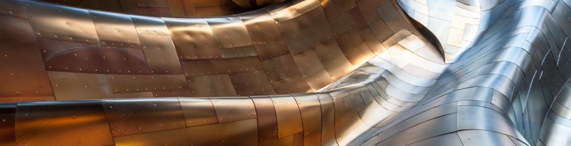 Arquitectura moderna titanio