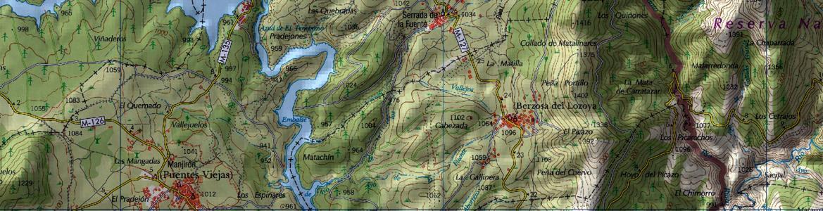 Cartografía de la Comunidad de Madrid