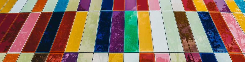 Pared de colores