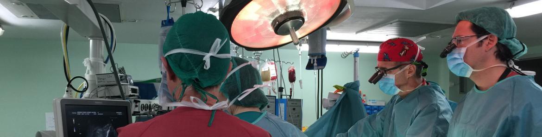 Trasplante en el Hospital Universitario La Paz