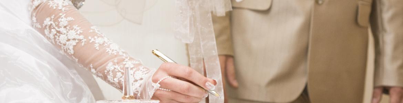 firma matrimonio
