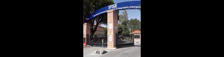 Puerta de acceso al IFISE